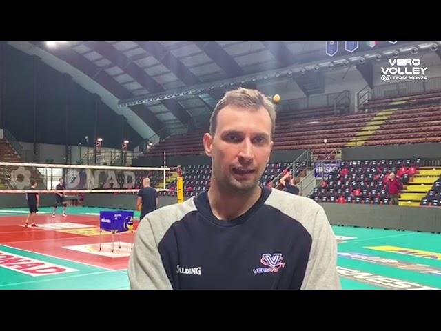 Viktor Yosifov pre Civitanova vs Vero Volley Monza Quarti di Finale Del Monte Coppa Italia
