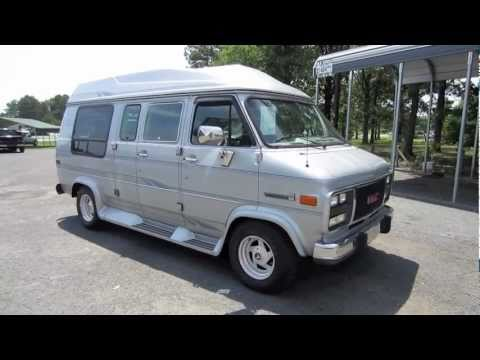 1994 GMC Vandura G2500 Conversion Van Start Up Engine And In Depth Tour