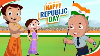 Chhota Bheem & Mighty Raju - Swachhta Abhiyaan | Republic Day Special Video