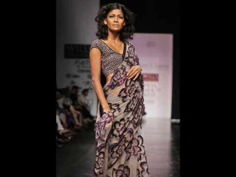 India Fashion week-Saree Show