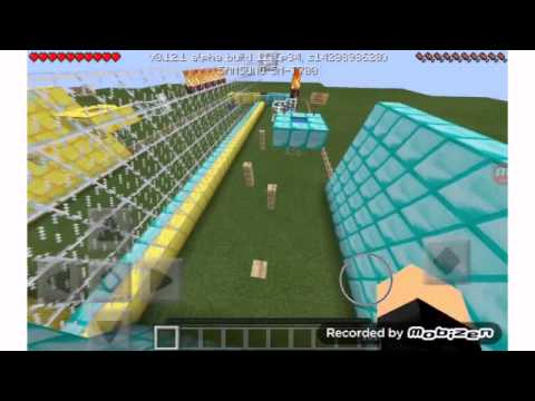 how to get gold and diamond in minecraft pe