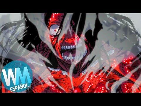 ¡Top 10 Muertes más SATISFACTORIAS en Anime!