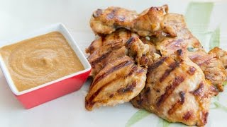 CHICKEN WITH PEANUT SAUCE RECIPE - Easy dinner meal