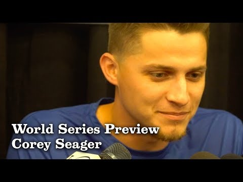 Corey Seager on Coming Back for the World Series | Los Angeles Times