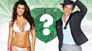 WHO'S RICHER? - Kourtney Kardashian or Bruno Mars? - Net Worth Revealed!