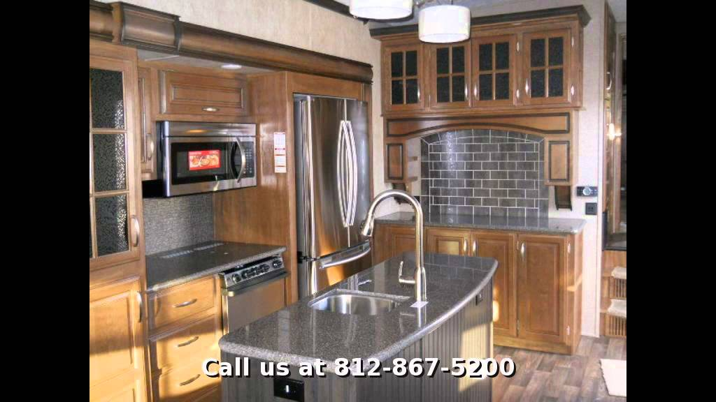 2015 Keystone Montana 3611rl Fifth Wheel Rear Living Room In Evansville In Youtube