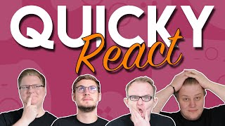 Lang ist´s her 🎮 Quicky REACT