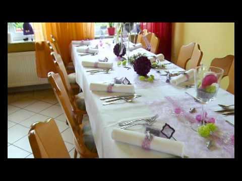 Kommunion Tischdeko Stilvoll Elegant Www Alesias De Youtube