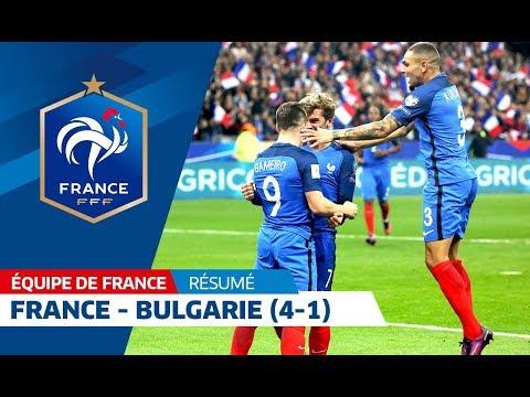 Les buts de France - Bulgarie (4-1)
