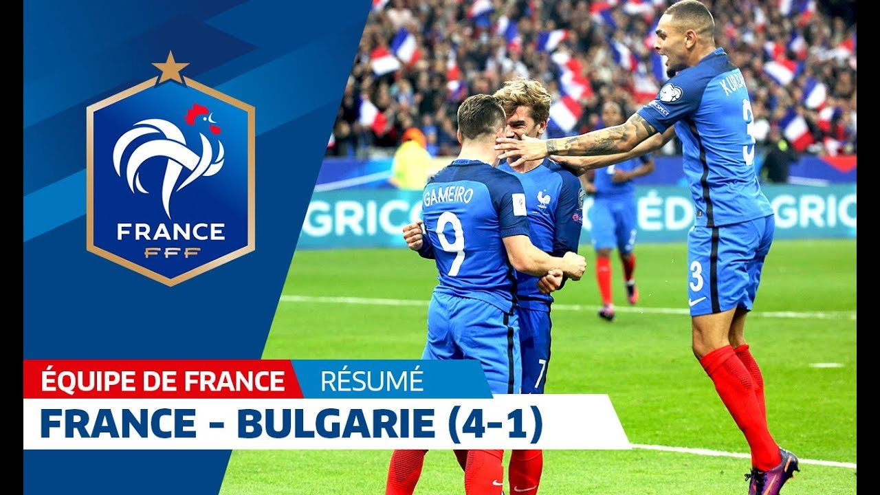 France 2018 Qualifiers France Bulgaria 2016 4 1 Highlights I Fff 2016