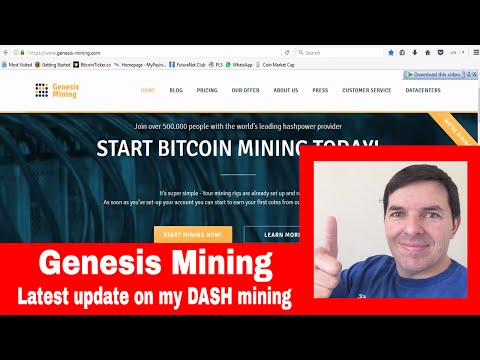 Genesis Mining South Africa Update and update on my DASH mining