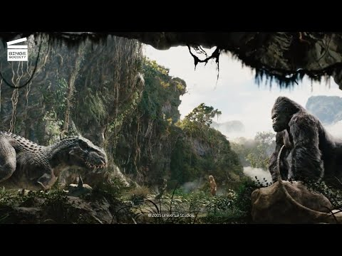 King Kong: Kong vs T-Rex HD CLIP