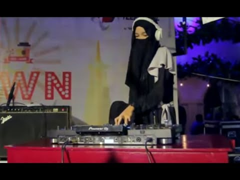 dj-wanita-bercadar-muslimah-indonesia