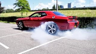 LOUD Dodge Challenger SRT-8 392 Hemi! BURNOUTS, Revs & More SOUNDS!