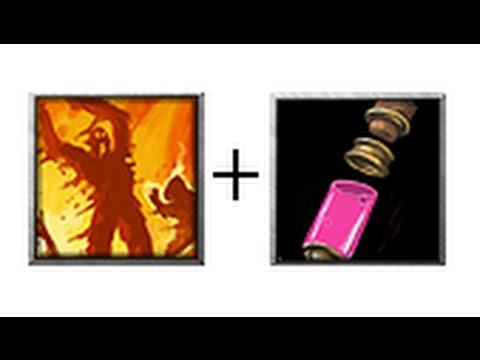 Flame Strike And Potion Of Invisibility