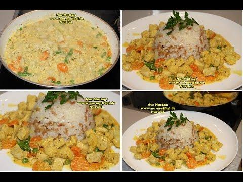 Kremalı sebzeli Tavuk Sote Nasıl yapılır