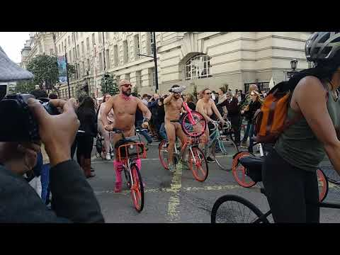 London WNBR 2019 passing through London Eye
