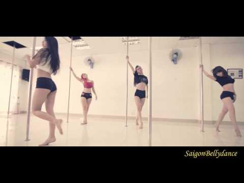 Dấu mưa - Trung Quân Pole Dance Múa cột SaigonBellydance