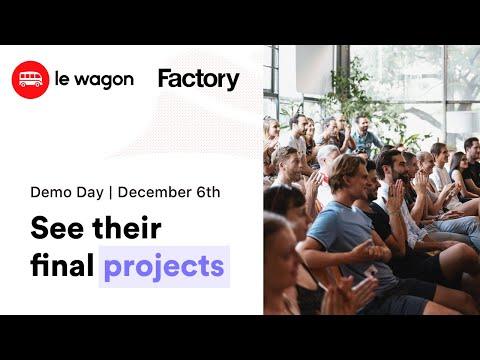 Coding Bootcamp Berlin | Le Wagon Demo Day - Batch #322 & #323
