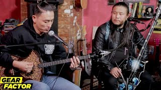 The HU Play Their Favorite Riffs on Traditional Mongolian Instruments