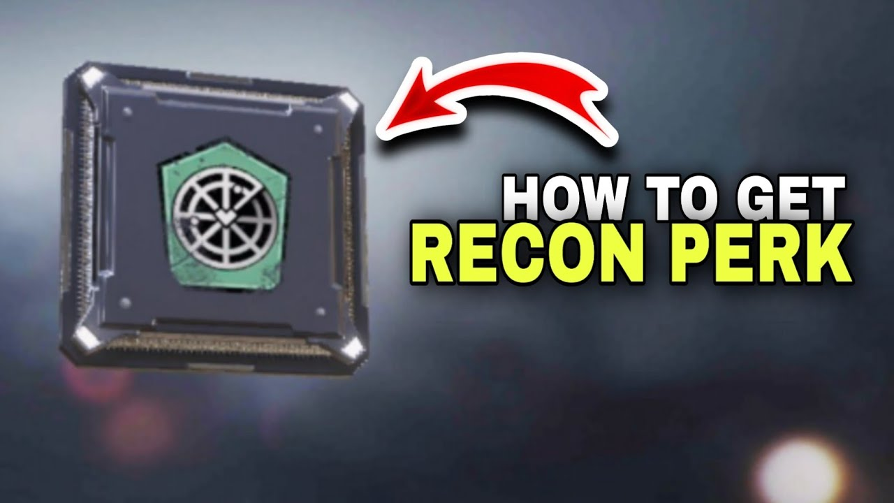 How to get Recon Perk Cod Mobile - New Seasonal Event Perk Prodigy Cod  Mobile - YouTube