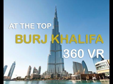 Dubai in 360 | Burj khalifa 360 | fastest Elevator 360