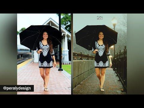 Caminata | Cambio de Fondo + Fotomanipulación + Nieve con Photoshop [Tutorial de Photoshop] thumbnail