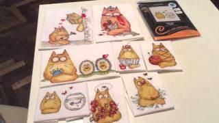 Вышивка крестиком. Коты с характером. РТО. Часть 4