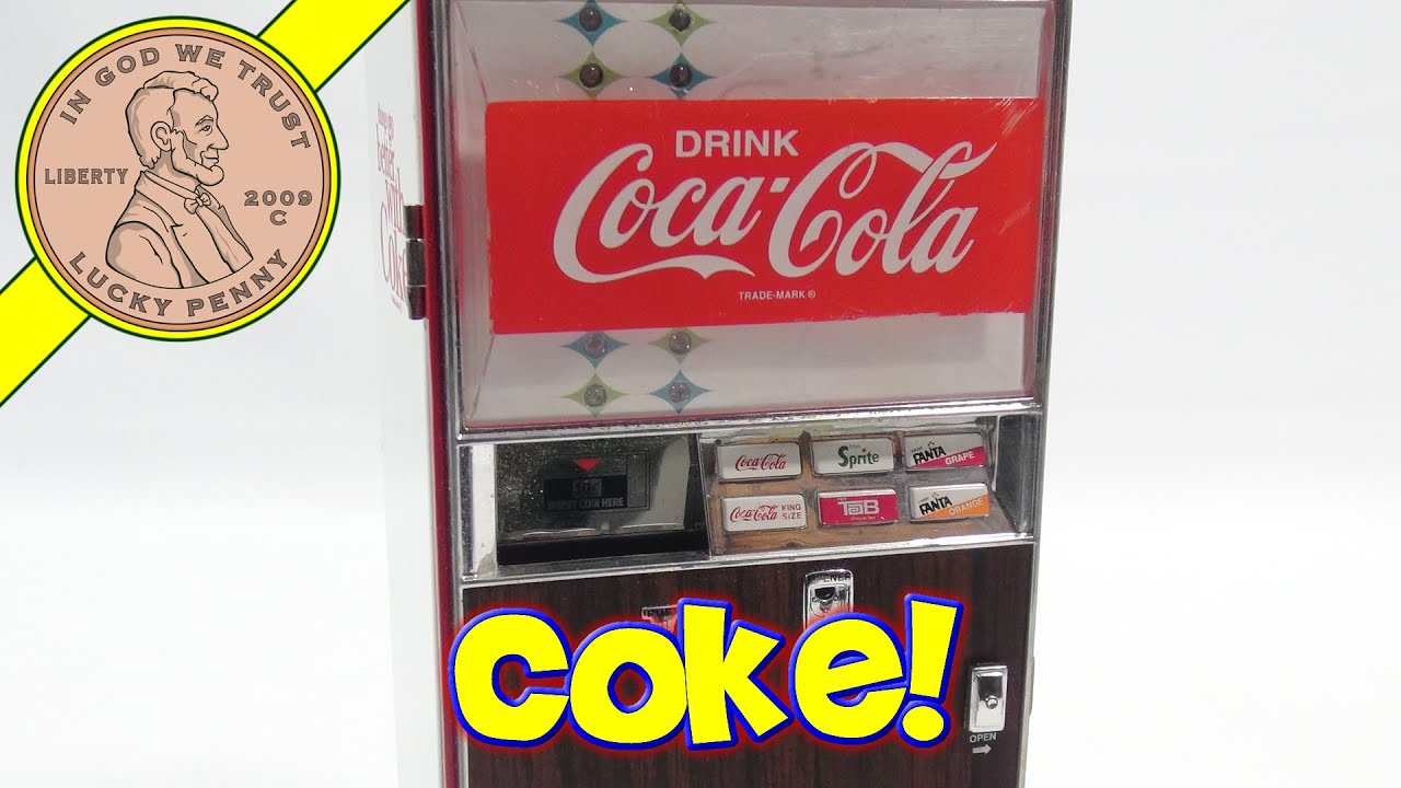 cola vending machine