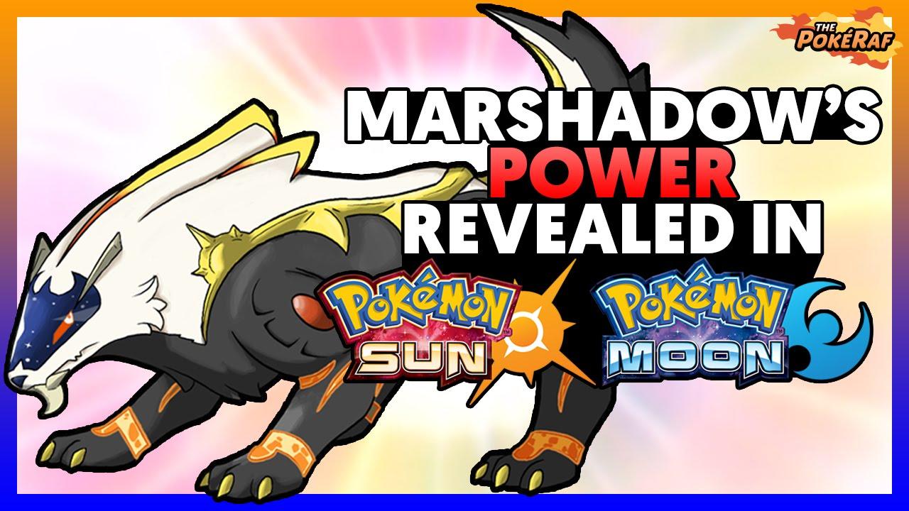 pokémon sun and moon theory marshadow s power revealed the origin