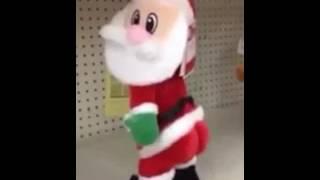 Santa claus bailando shaky shaky - Daddy yankee