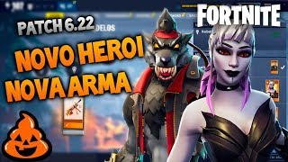 New Halloween Weapon! Mythic Wolf! ALL NEWS Patch 6.22 Fortnite Save the World