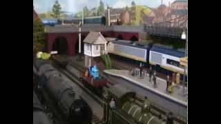6 CAR EUROSTAR,6 COACH ROYAL TRAIN,7 COACH LMS ROYAL SCOT AND LMS COMPOUND HAL 7 PULLMANS.