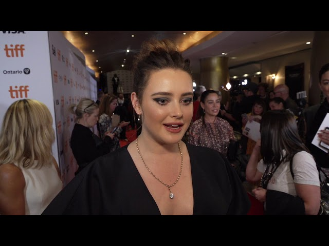 KNIVES OUT Katherine Langford   @ world premiere