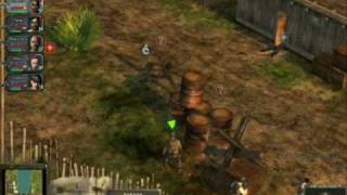 Hired Guns: The Jagged Edge Gameplay Video