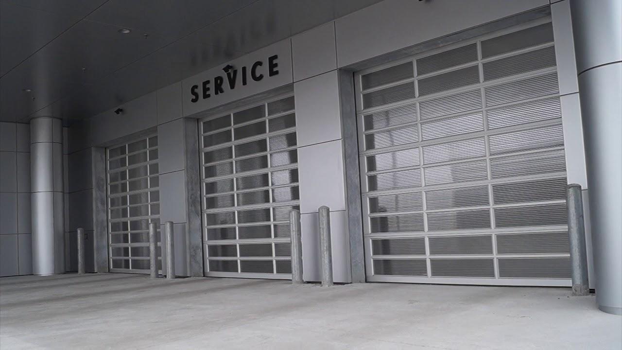 Overhead Door Solutions At Lexus In Ajax