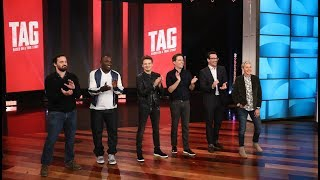 [4.07 MB] The Cast of 'Tag' Tries to Get in the 'Last Word'