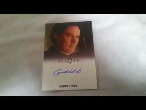 GABRIEL OLDS Actor  HEROES & More  Autograph Collection ing FREEZE