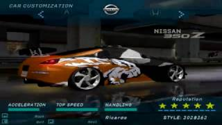 Need For Speed Underground - Some Rival Cars (Part 2)