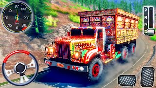 Asian Indian Truck Simulator 2021-Offroad Heavy Load Lorry Truck Driving-Android GamePlay