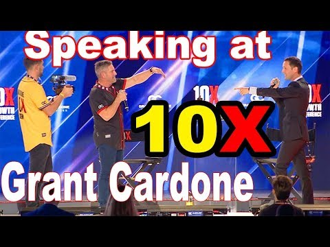Speaking On Stage In Front of 36,000 People at 10X Growth Conference 3 with Grant Cardone