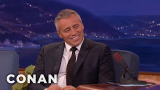 Matt LeBlanc Forgot 'Episodes' Was A Single Camera Show  - CONAN on TBS