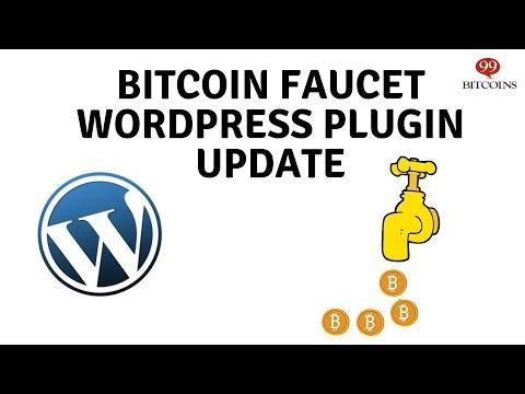 Bitcoin Faucet WordPress Plugin by 99Bitcoins