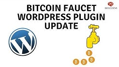Bitcoin Faucet WordPress Plugin Configuration - Latest release