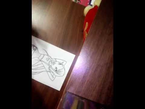 Раскраска Рокси из винкс