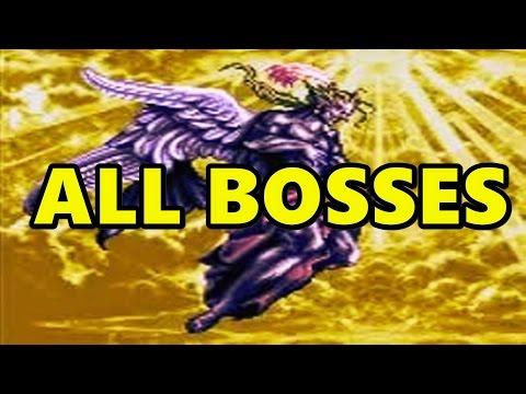 Final Fantasy VI All Bosses / All Boss Fights