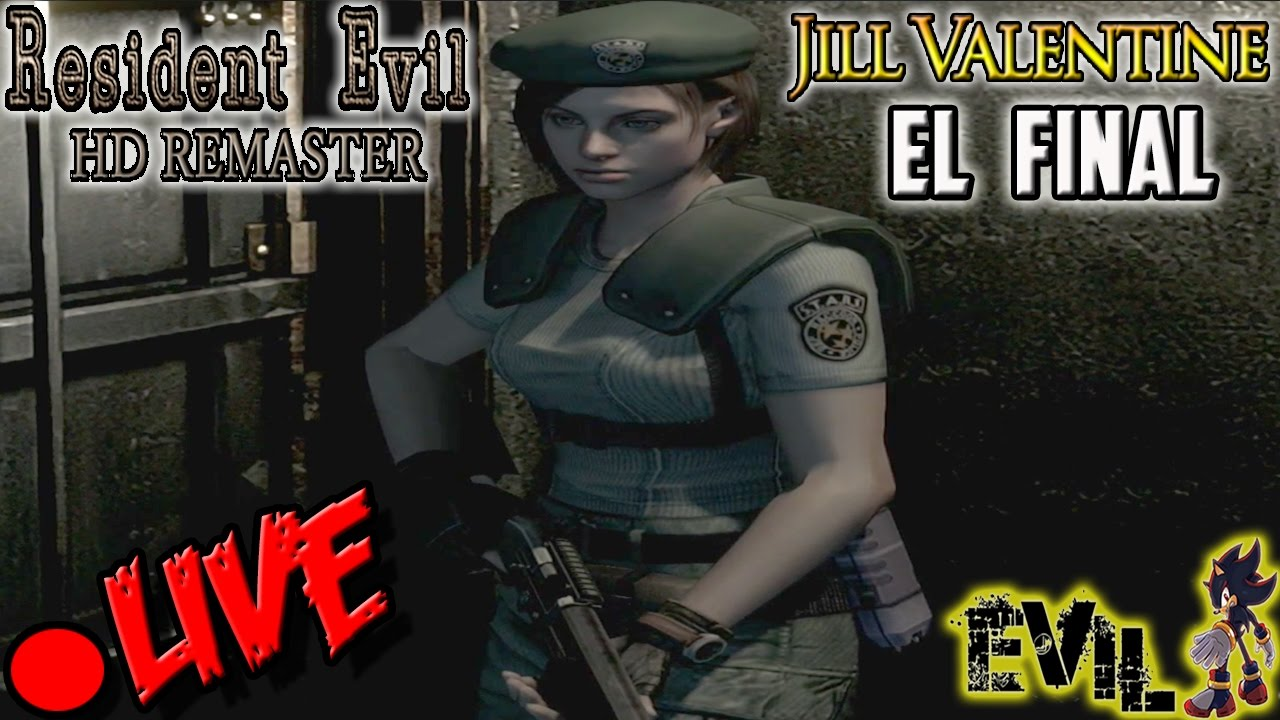 Ver Resident Evil HD Remastered Película Completa en Español (Full Movie) Gameplay Let´s Play 60 FPS 2/2 en Español