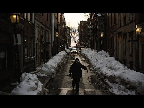 Skiers Turn Boston Streets Into Playground During Record Breaking Winter