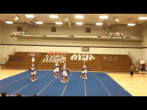 Trion Middle School Competition Cheer