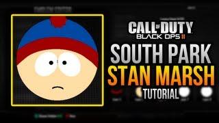 BLACK OPS 2 - Emblem Tutorial: SOUTH PARK - Stan Marsh!